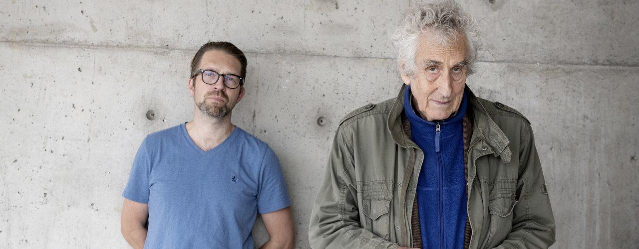 Leif Ove Andsnes og Ketil Hvoslef